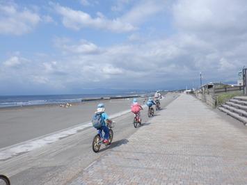 トトロ幼稚舎 サイクリング