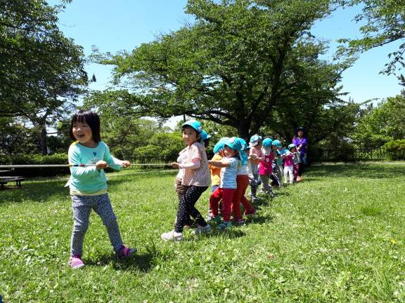 トトロ幼稚舎 防災運動会
