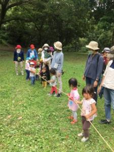 トトロ幼稚舎 森の中のお誕生日会